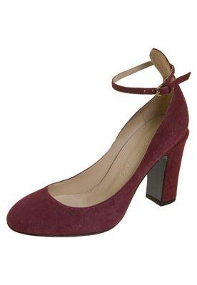 Sapato Scarpin Celeste Vinho - Cavage