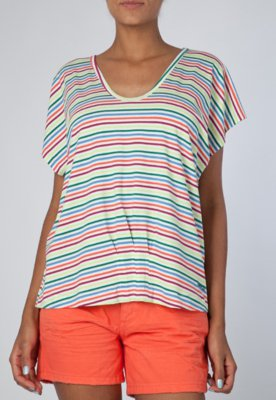 Blusa Classica Happy Listra - Sommer