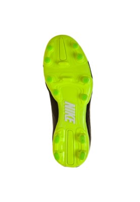 Chuteira Campo Nike Jr. Tiempo Natural IV LTR FG Preta