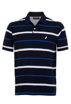 Camisa Polo Nautica Clean Azul