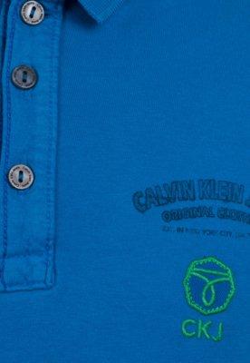 Camisa Polo Calvin Klein Kids City Azul
