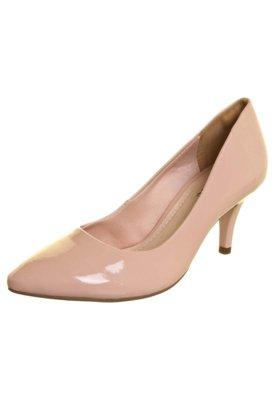 Sapato Scarpin Via Marte Básico Verniz Rosa