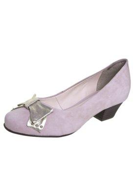 Sapato Scarpin Bottero Laço Salto Baixo Bege