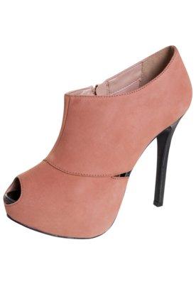 Open Boot My Shoes Onda Sella Marrom