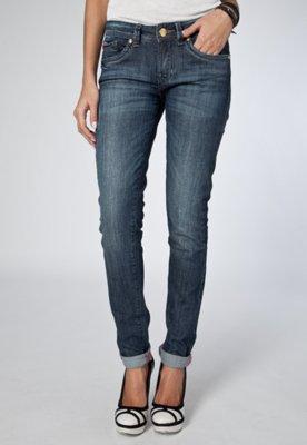 Calça Jeans Skinny Iódice Denim Glass Azul