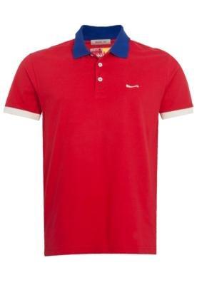 Camisa Polo Coca-Cola Clothing Brasil Bloco Vermelha - Coca ...