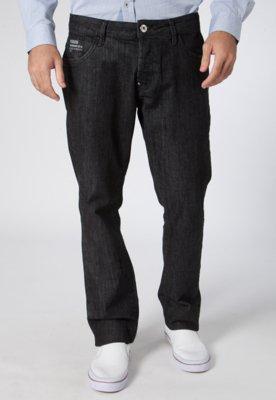 Calça Jeans Reta Alex II Preta - Forum