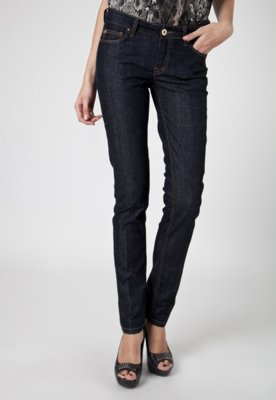 Calça Jeans Ellus Skinny Light Cross Azul