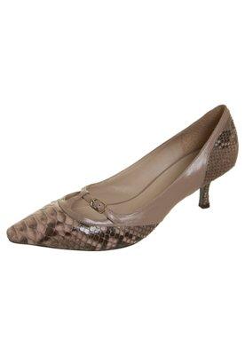 Sapato Scarpin Cavage Vicky Marrom