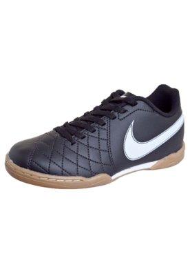 Chuteira Futsal Infantil Nike Jr Flare Preto
