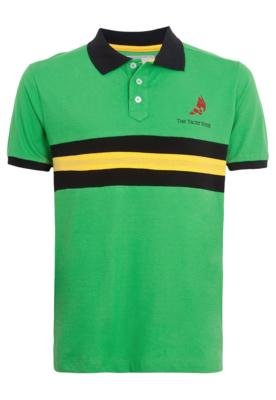 Camisa Polo The Yacht Week Board Verde