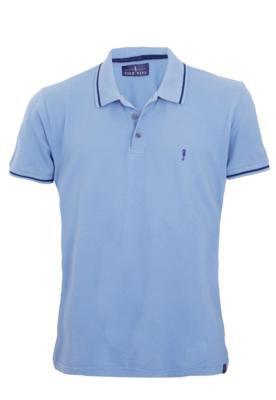 Camisa Polo Pier Nine Horse Azul