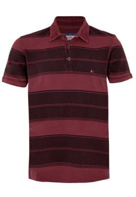 Camisa Polo Aramis Bordado Listrada