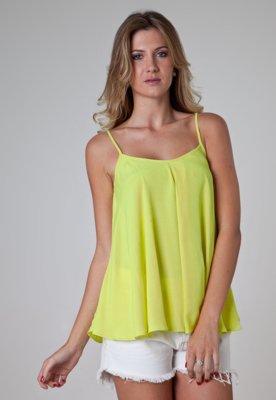 Blusa Tantan Alça Amarela - Colcci