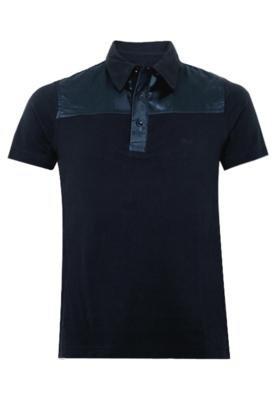 Camisa Polo Rich Piquet Azul