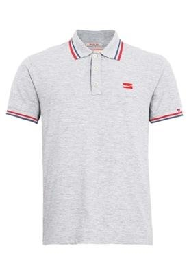 Camisa Polo Coca-Cola Clothing Cinza - Coca Cola Clothing