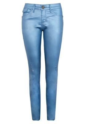 Calça Jeans Marisa Skinny Resinada Azul - Forum