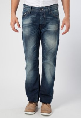 Calça Jeans Reta G-Star Attacc Loose Azul