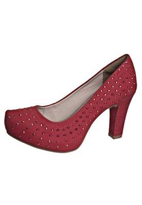 Sapato Scarpin Dakota Tubarão Vermelho