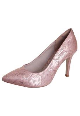 Sapato Scarpin Pink Connection Bico Fino Rosa