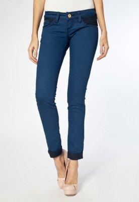 Calça Jeans Coca-Cola Clothing Cropped Skinny Dobra Feita A...