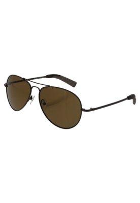 Óculos de Sol Aviador Guess Deluxe Marrom