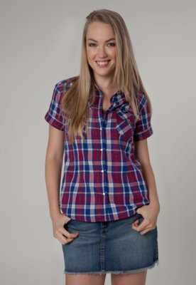 Camisa Lee Tina Xadrez
