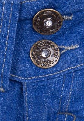 Calça Jeans Sawary Reta Beautiful Azul Infantil