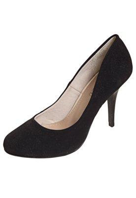 Sapato Scarpin FiveBlu Liso Preto