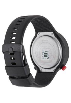 Relógio Puma Go Preto/Vermelho