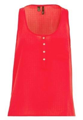 Blusa MNG Barcelona Jacki Vermelha