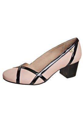 Sapato Scarpin Recortes Rosa - Carmim