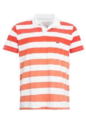 Camisa Polo Wöllner Bordado Listra
