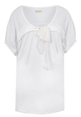 Blusa Ampla Triton Laço Branca