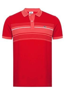 Camisa Polo Lacoste Fever Vermelha