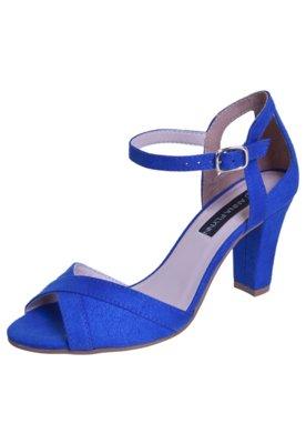 Sandália Anna Flynn Elegant Azul