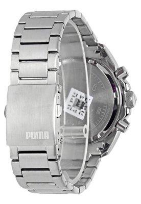 Relógio Puma Challenger ?L Prata