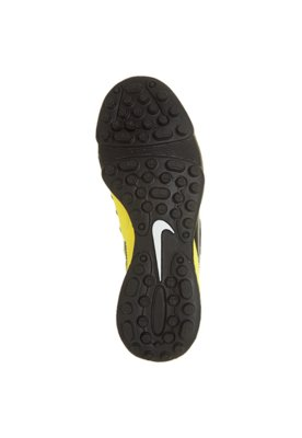 Chuteira Society Nike CTR360 Enganche III TF Amarela/ Preta