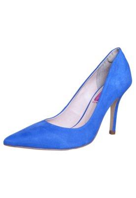 Sapato Scarpin Pink Connection Wonder Azul