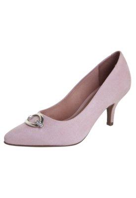 Sapato Scarpin Vizzano Salto Médio Ferragem Rosa