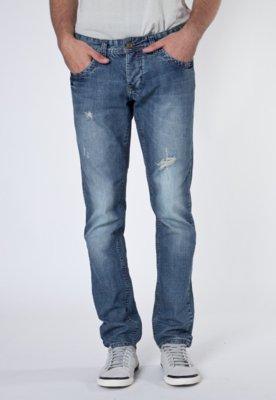 Calça Jeans Sawary Puídos Azul