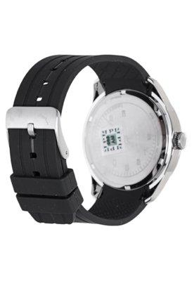 Relógio Puma Slice - L Preto/Prata
