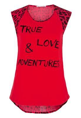 Blusa True Love Vermelha - Canal