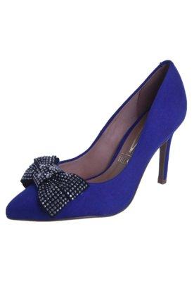 Sapato Scarpin Vizzano Laço Hotfix Azul