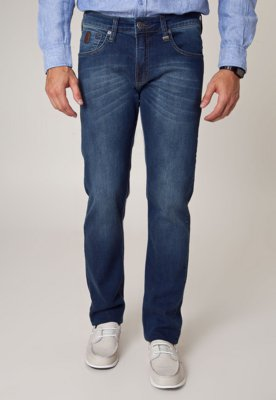 Calça Jeans Colcci Reta Alex 2 Azul