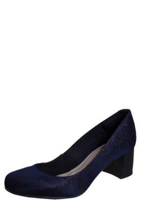 Sapato Scarpin Pink Connection Night Azul