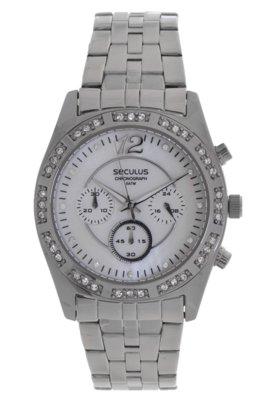 Relógio Seculus 48046L0SGNS1 Prata