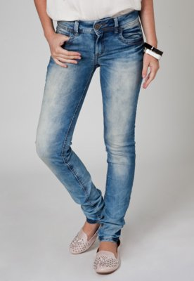 Calça Colcci Power Jeans Azul