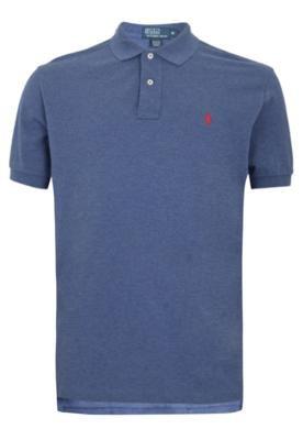 Camisa Polo Polo Ralph Lauren Classique Azul