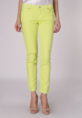 Calça Jeans 7 For All Mankind The Slim Verde